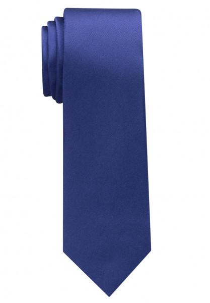 Cravate Eterna bleu moyen uni
