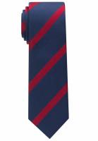 Cravate Eterna bleu foncé rayé