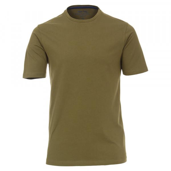 T-shirt Redmond marron clair en coupe classique
