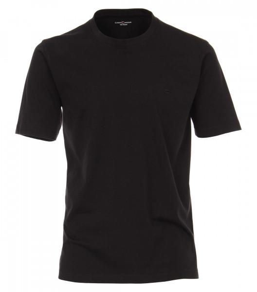 T-shirt CASAMODA noir en coupe classique