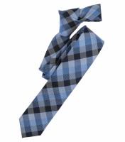 Cravate Venti bleu clair à motifs
