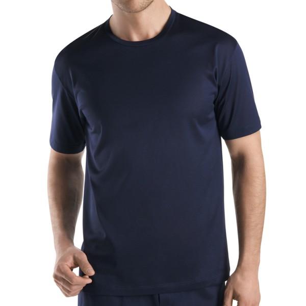 "Hanro ""COTTON SPORTY"" T-Shirt bleu marine"