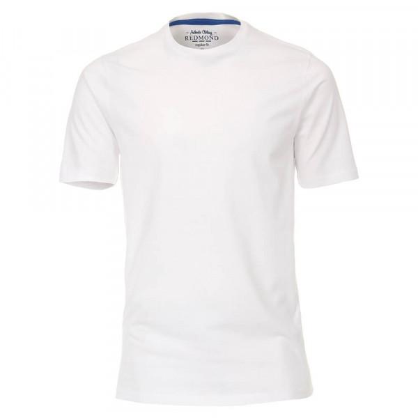T-shirt Redmond blanc en coupe classique