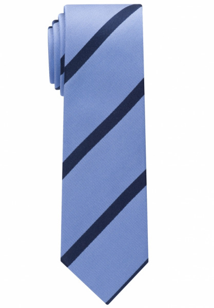 Cravate Eterna bleu clair rayé