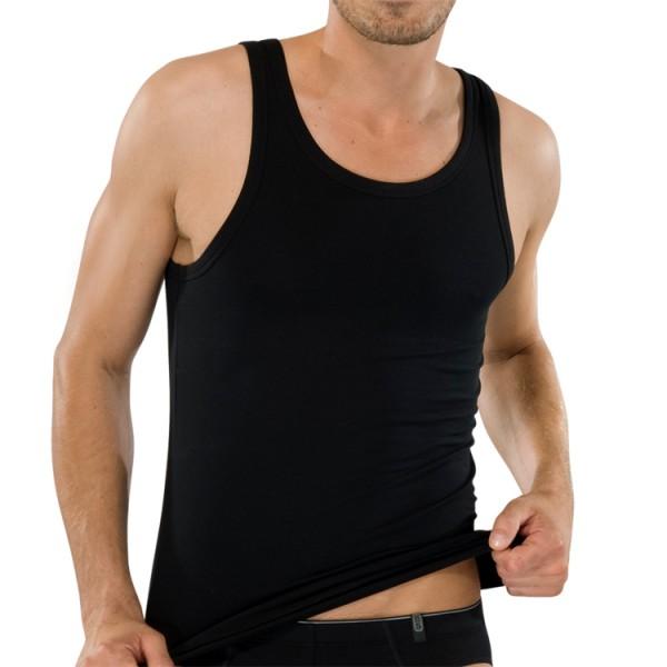 """Schiesser """"95/5"""" Shirt noir"""