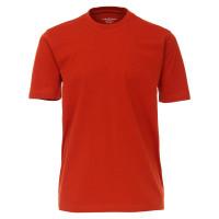 T-shirt CASAMODA orange en coupe classique