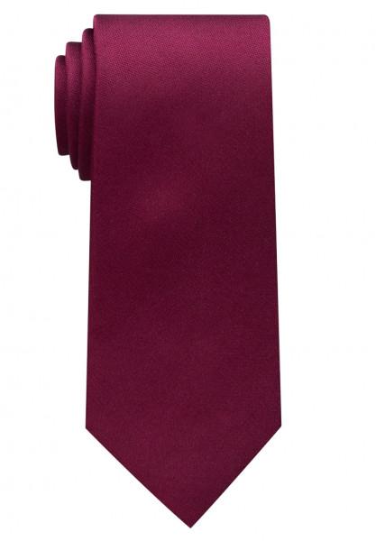 Cravate Eterna rouge foncé uni