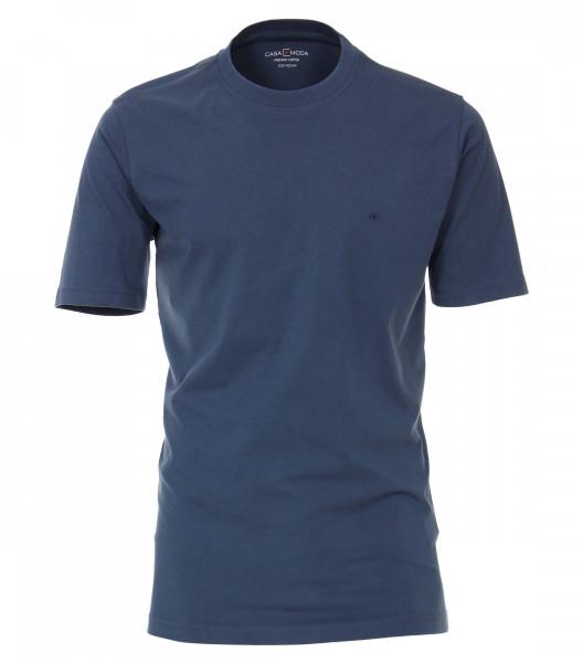 T-shirt CASAMODA bleu foncé en coupe classique