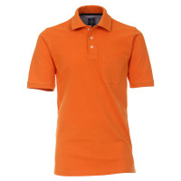 Polo Redmond orange en coupe classique