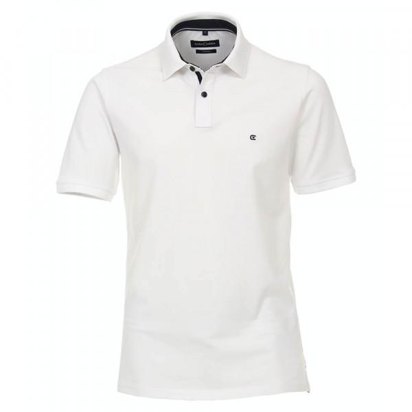 Polo CASAMODA blanc en coupe classique