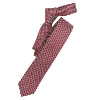 Cravate Venti rouge foncé à motifs