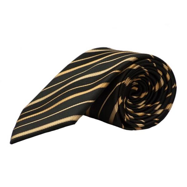 Cravate Parsley noire rayé