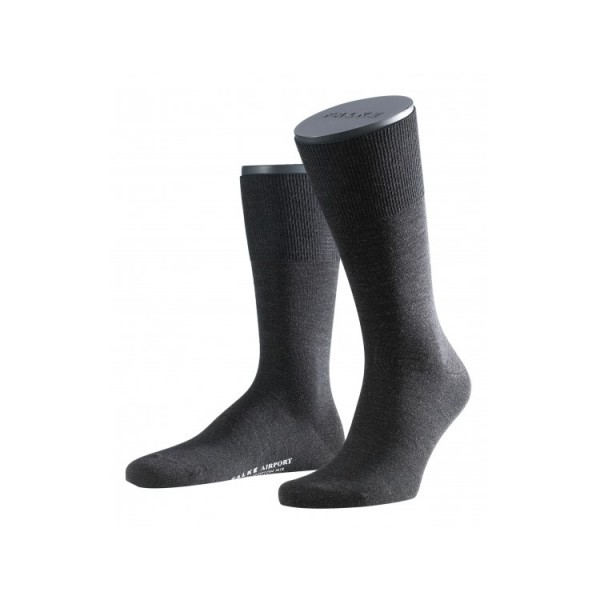 FALKE AIRPORT chaussettes courtes anthracites