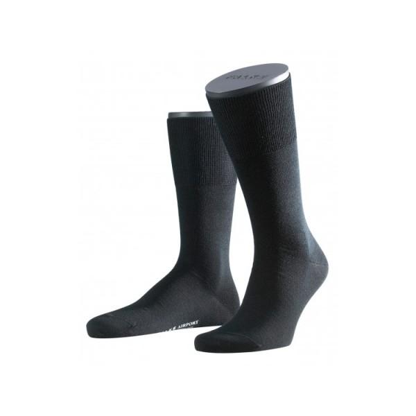 FALKE AIRPORT chaussettes courtes noires