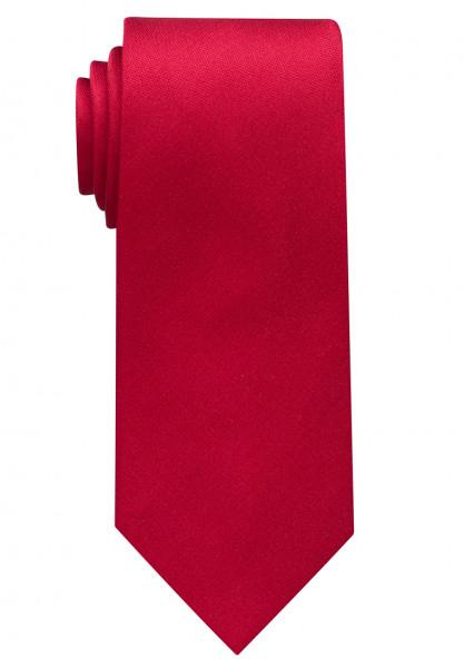 Cravate Eterna rouge uni