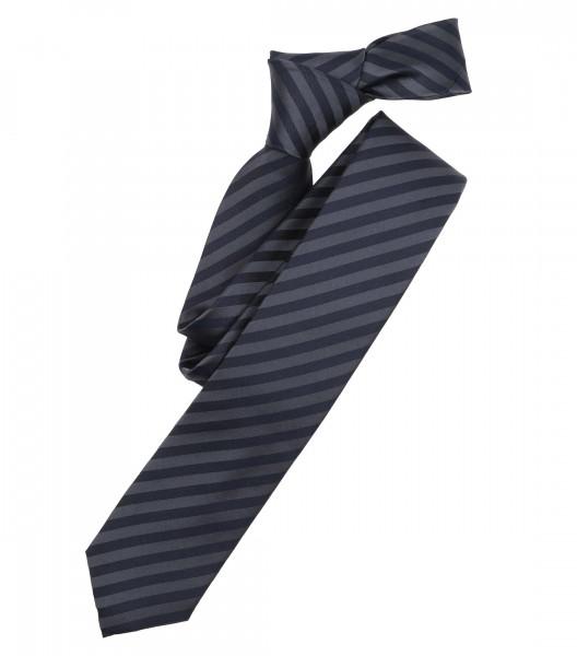 Cravate Venti bleu foncé rayé